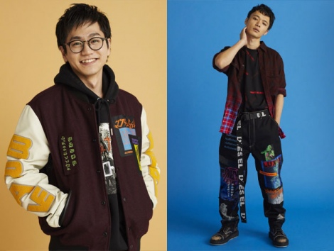 東京ホテイソンが雑誌smartのモデルを務めた画像