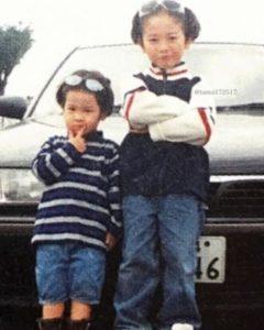 玉森裕太と弟の小さい頃の画像