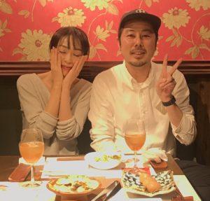 遊井亮子と夫の浦川瞬の画像