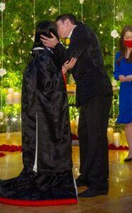 ニコラス・ケイジと芝田璃子の結婚式画像