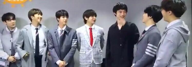BTSと坂口健太郎の画像