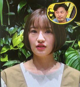 中田花奈のシンパイ賞出演画像