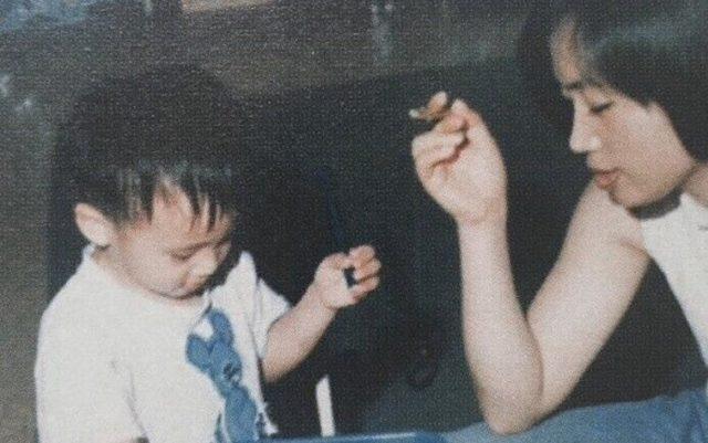 ジンの母親の画像