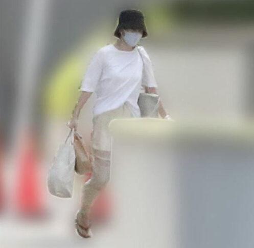 森川正規のマンションを訪れる前田敦子の画像