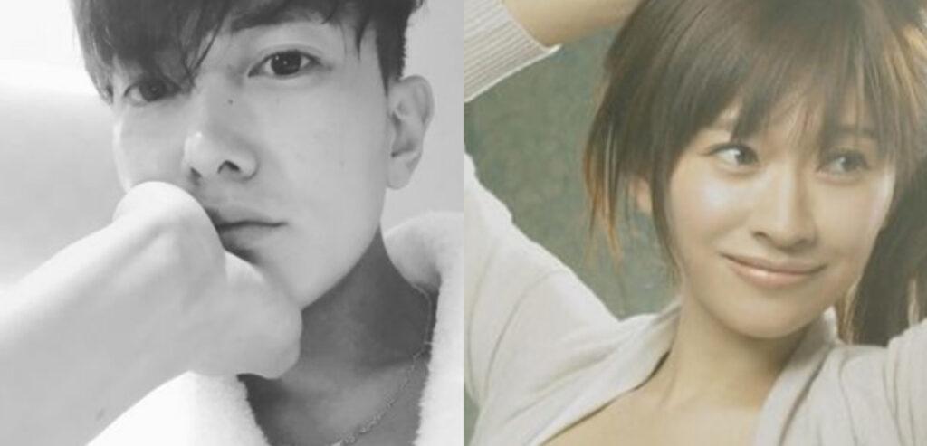 篠原涼子とグァンスの画像