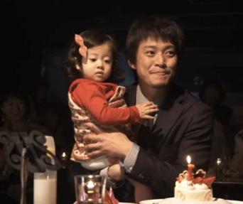 小栗旬と山田優の娘の画像