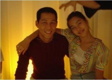 イジョンジェと元カノのキムミニの画像